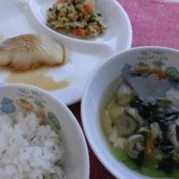 煮魚&スイートポテト