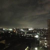 外は真っ暗になりました。明日からは大雨降りの予報です。嫌だなあ。