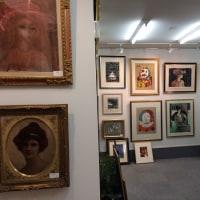 大絵画市 画廊の様子