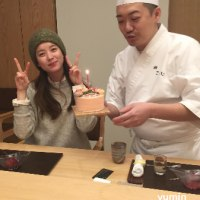 ヒョジュ姫 お寿司やさんへ