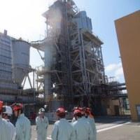 バイオマス発電所などを視察(その1)
