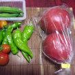 今日も野菜が!