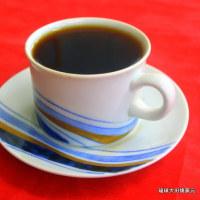 琉球大田焼窯元日常の事 ☆日展会員 故辻毅彦先生のカツプ∩ソーサーで美味しいコーヒーを呑みました