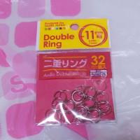 100円ショップ 二重リング 11号