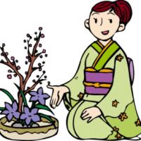 「花のあるやさしい空間」池坊佐伯支部花展!