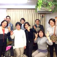 【教室】松戸 沖縄三線教室 お稽古!(^o^)