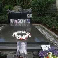 念願のテレサ・テンのお墓参りを実現