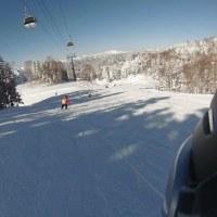 今シーズン2度目のスキーに行きました。その2