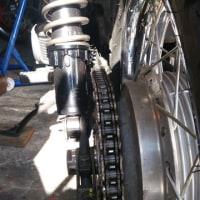 Z1 リアサス 交換 カヤバTGS350B