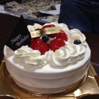 両親の誕生日のお祝い