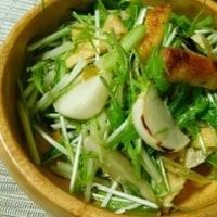 蕪と薄揚げのサラダ・柚子こしょうポン酢☆スパイス大使☆