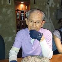 92才の介護ダイアリー、2回目の脳梗塞による右腕の死、失神?パソコン認識不能、病院へ急行、スキャン,MRI、即時入院