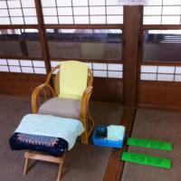 11時〜野里住吉神社社務所内で体験足もみします(^O^)/