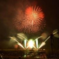 雨の2016年・やつしろ全国花火競技大会 その3