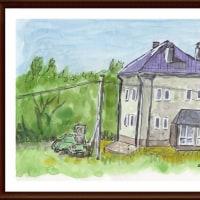 ベラルーシ・ウクライナ・モルドバ旅行シリーズ(5)ミンスク郊外の住宅
