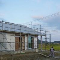 良い家を建てて売りたい!プロジェクト 『 田園を望む家 』。そろそろ諸々仕上工事に入っていきます!