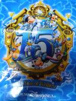 東京ディズニーシー15周年ミッキーマウス&ダッフィー♪
