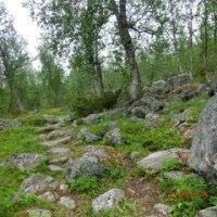 2016 Sweden トレッキング Part2  ポルテ~アクトセ