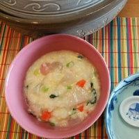12月7日、水曜日(玉子と野菜のおじやを作る)