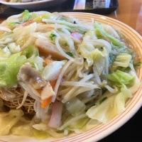「野菜たっぷり皿うどん」953kcal