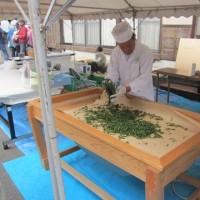 富士宮市高原地区のお茶祭り