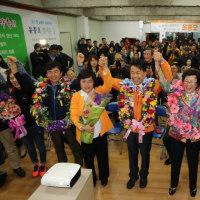 韓国総選挙の民心