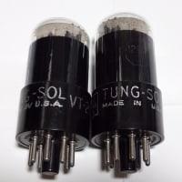 真空管 TUNG-SOL Round Plateを使う。