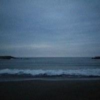 日暮れの海は潜在意識に繋がる海