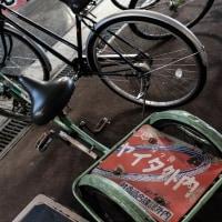 謎の自転車