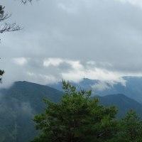雨が降るのに山へ