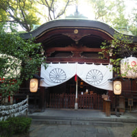『浪速史跡めぐり』堀越神社は、大阪市天王寺区茶臼山町にある神社。聖徳太子が四天王寺を創建
