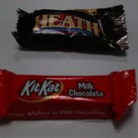 アメリカのチョコレート HEATH と KITKAT