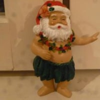 ハワイアン クリスマスオーナメント