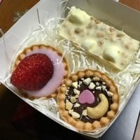 バレンタインデーに三種類のチョコレート