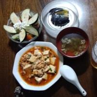 晩飯シリーズ #5 麻婆豆腐
