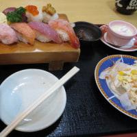 寿司でランチ