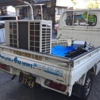 熊本 エアコンクーラーの取外し処分 2980円〜【熊本 エアコン処分賜ります】