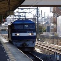 EF210-8号機@吹上駅