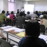 11・23学習講演会  関東の放射能汚染の現実  川根眞也さん