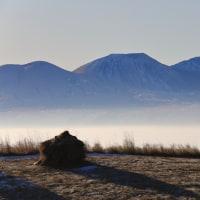 真冬の雲海。