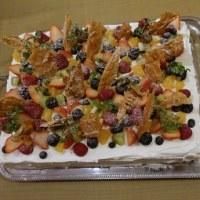祝還暦パーティのお料理