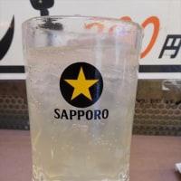 台東区上野 「肉の大山」へ行く。。。「やみつきコロッケ&メンチ+レモンサワー」
