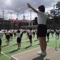 運動会予行練習、ばっちりです( ゚∀゚)