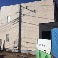 国分寺市内木造2階建アパート新築工事の現場報告