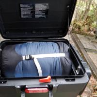 F700GSにキャンプ用品積み込みテスト ソロツーなのに何で大荷物なの?