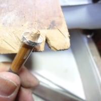 オーダーペンダント 石枠作り