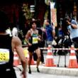 函館マラソンで売木村伊東和也選手を飛び入り応援