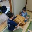 7月17日子供教室の風景。