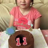 170618 娘の誕生ケーキ