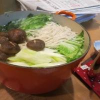 極寒の夜に体を温める鍋は… ^_^